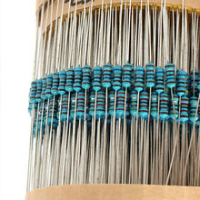 Hot 3120 PCS Metal Film Resistors Power 1 / 4W Metal Film Resistor Resistance 1 Ohm ~ 10M Ohm 156 Valves цена