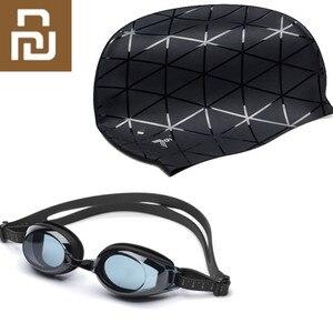 Image 1 - Youpin TS Schwimmen Brille Gläser Turok Steinhardt Marke Audit Anti fog Beschichtung Objektiv Widder Winkel Lesen Wasserdichte Schwimmen Brille