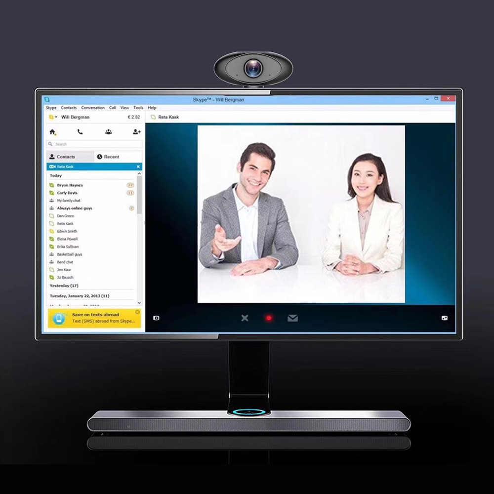 Компьютерная камера клип-на веб-камеры с микрофоном 1080P HD веб-камера USB веб-камера для игровых ПК ноутбуков видеоконференции