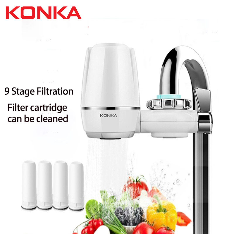 Kitchen Faucet Tap REMOVAL-REPLACEMENT-FILTER Filtro Percolator Water-Purifier Ceramic