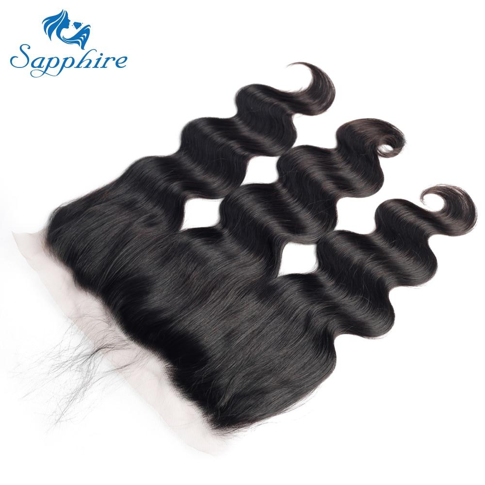 H9dafbb27c3f44c8182b9a3ba23afd3feQ Sapphire Brazilian Hair Weave Bundles Body Wave Bundles With Frontal Human Hair 3 Bundles With Closure Frontal Hair Extension