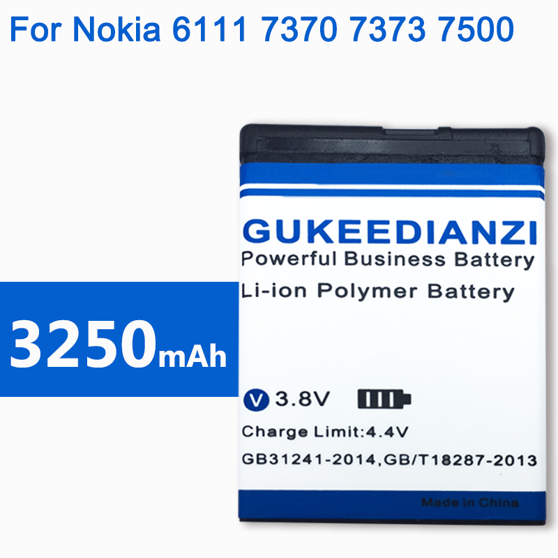 2019 New BL-4B 3250mAh Rechargeable Mobile Battery For <font><b>Nokia</b></font> <font><b>N76</b></font> 5000 5320XM 7070 2505 2630 2660 2760 7088 2730 6111 N75 image