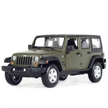 Maisto 1:24 2015 Jeep Wrangler Unlimited Off-road Vehicle Static Simulation Diecast Alloy Model Car