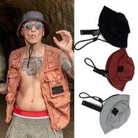 Sombrero cubo para el aire libre para hombre y mujer, gorra de montaña Universal de secado rápido, impermeable, con cordón ajustable, talla S, novedad de 2021