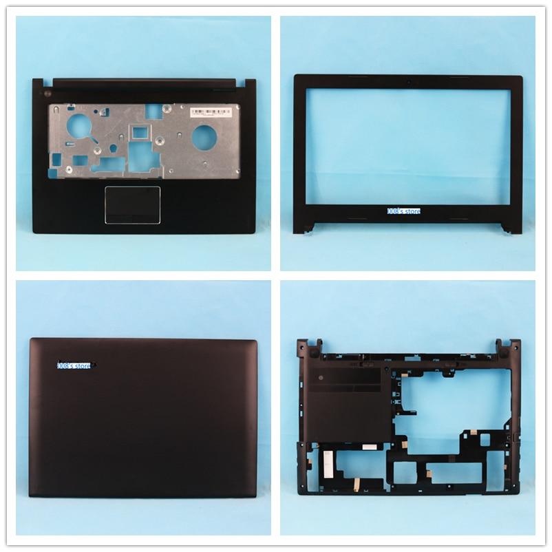 New Case For Lenovo S410 S410P Top Back Cover/Front Bezel/Palmrest/Bottom/Screen Flex Cable