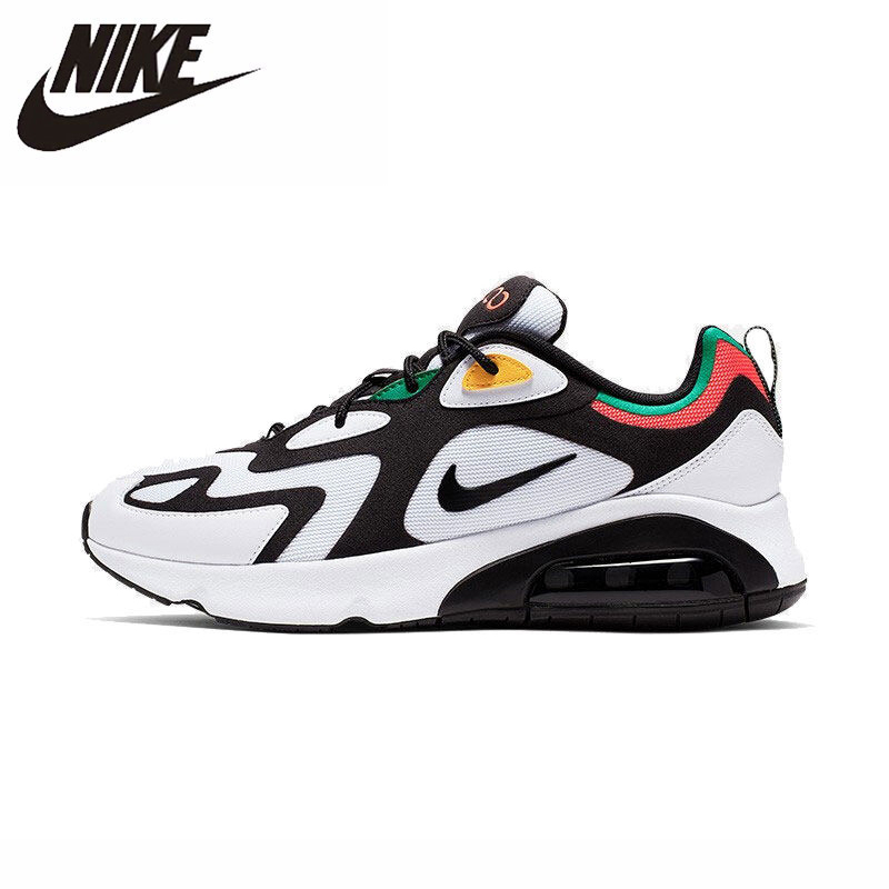 NIKE AIR MAX 200 (PS) Original Parent-child Running Shoes Lightweight Kids Shoes Sports Comfortable Men Sneakers #AQ2568