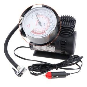 Image 2 - DC 12 V 300 PSI compresor de aire portátil bomba de neumáticos de inflador eléctrico de coche para bicicletas de motocicleta coche eléctrico ATV camión, Etc.