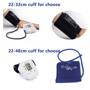 Image 3 - Drop Shipping Health Care Automatic Arm Blood Pressure Monitor Digital LCD Large Cuff Blood Pressure Meter Tonometer