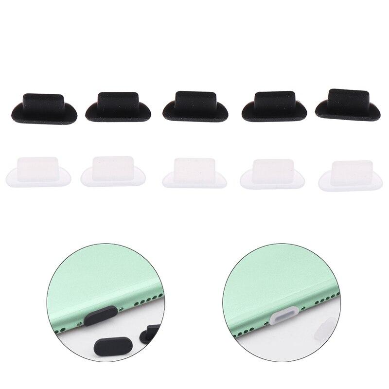 10 шт. силиконовых кейсов Износостойкий чехол для телефона чехол для наушников планшет пылезащитные заглушки для iPhone 5S 6 8P iPhone 11 iPhone 12 Pro AirPods н...