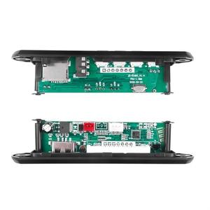 Image 2 - Kebidu Bluetooth handsfree araç kiti MP3 çalar dekoder kurulu FM radyo TF USB 3.5 Mm AUX ses için araba için iphone Android telefon