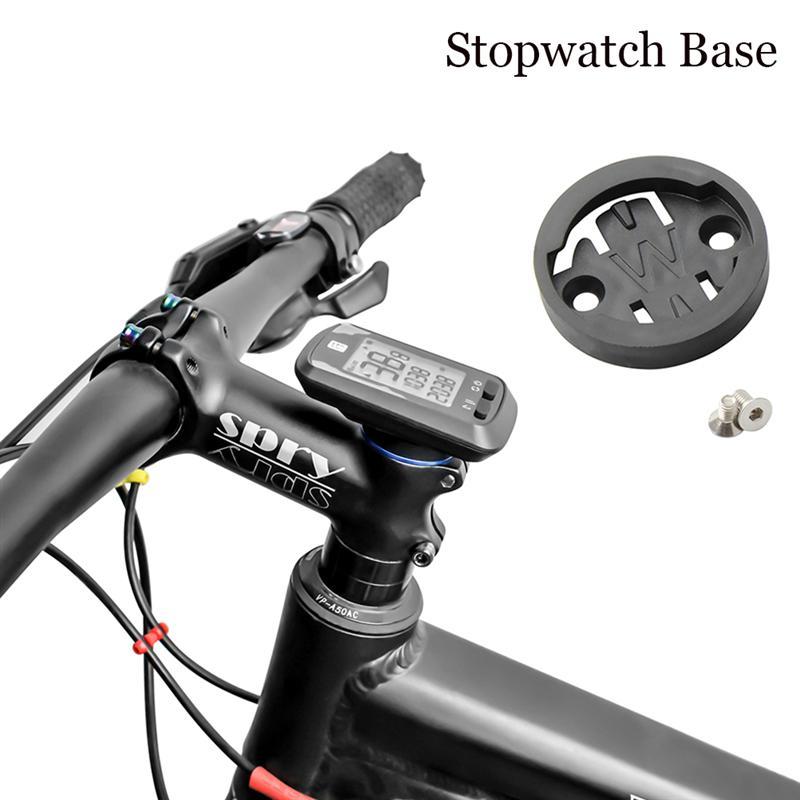 Bicicleta kit de montagem do computador inset converter base adaptador substituir para garmin bryton gigante wahoo eliemnt parafuso montagem do computador