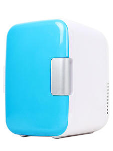 Fridge Electric Home Refrigerator Fridge Home Dual-Use 4L 220V/12V Fridge Beer Cooler