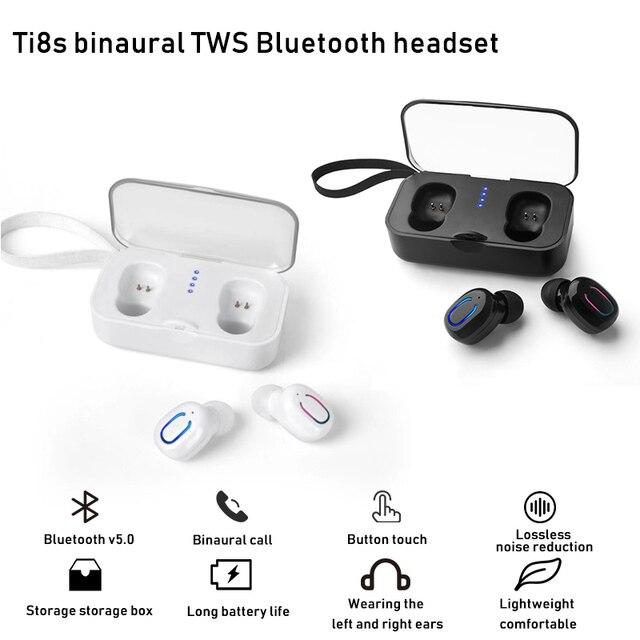 Bluetooth 5.0 אוזניות TWS אלחוטי אוזניות Bluetooth אוזניות דיבורית אוזניות ספורט אוזניות משחקי אוזניות טלפון