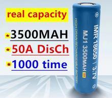 1-20 100% オリジナルMJ1 3.7 v 3500 18650リチウム二次電池懐中電灯電池MJ1 3500 3000mahのバッテリー