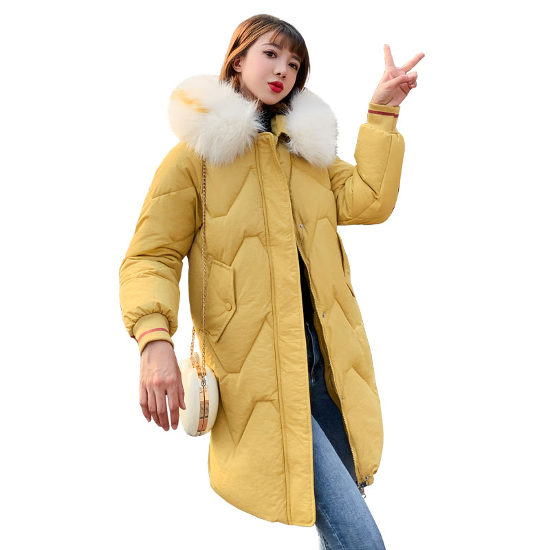 KUYOMENS Hot Sale Women Winter Coat Lady Jacket Warm Woman Parkas Female Overcoat Brand Coats Girl's New Winter Clothes