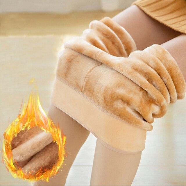 Winter Leggings Women Warm Thick Plus Velvet High Waist Women Leggings Compression Super Stretch Pencil Pant 5