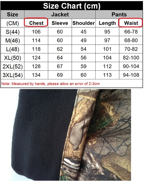 Men's Outdoor Bionic Winter Camouflage Clothes Hunting Clothing Winter Hunting Suits with Fleece Ghillie Suit 6