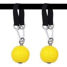 Balle descalade suspendue, 97/72mm, kit de sport pour la Force et les muscles, poignée à la main, gymnastique, Fitness pour la maison