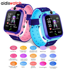 Waterproof Kid Smart watch LBS Baby Watch for Children SOS Call Location Finder Locator Tracker Anti Lost Monitor Smart Watches недорого