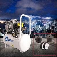 Neue 30L tragbare tragbare tragbare luft kompressor öl-freie stille luft kompressor