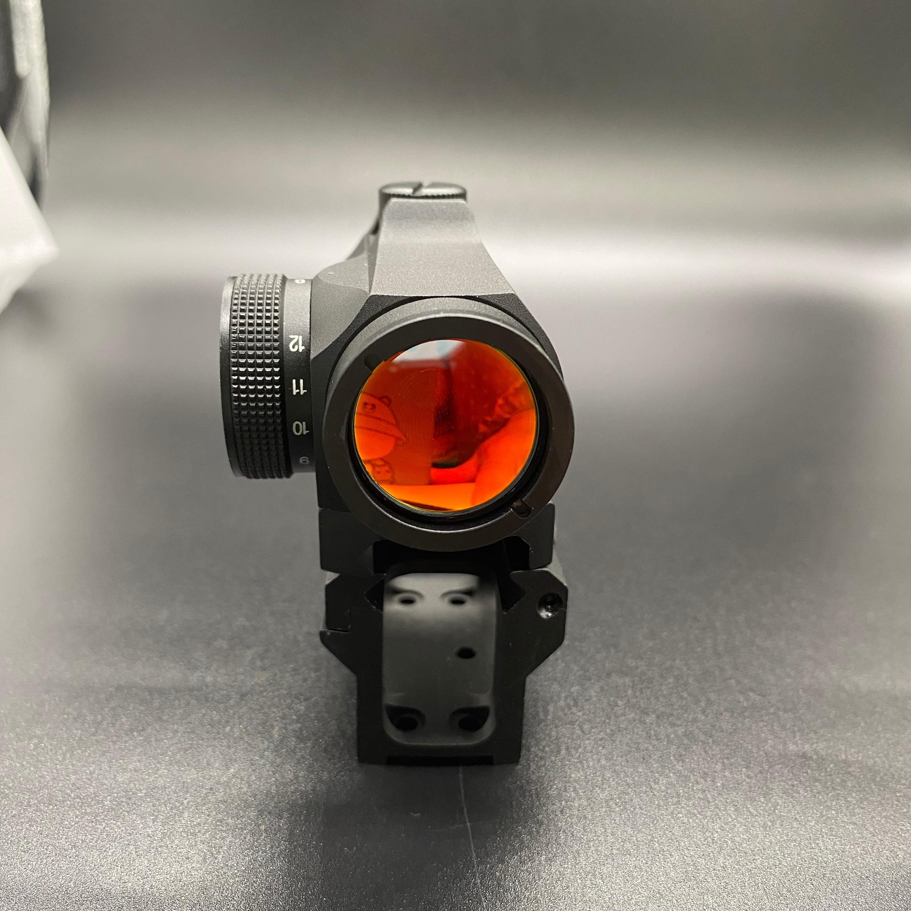 Rifescope görüş 2MOA T2 Sight işıklı keskin nişancı kırmızı yeşil nokta Sight hızlı serbest bırakma ile T2 kırmızı nokta görüşü