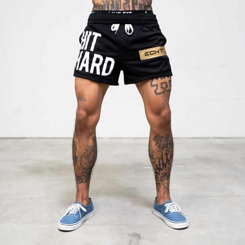 2020 degli uomini di Fitness Bodybuilding Shorts Uomo Estate Palestre di Allenamento Maschio Mesh Traspirante Quick Dry Sportswear Jogger Beach Pantaloni Corti
