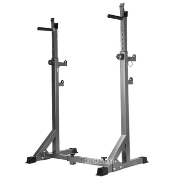 Household Barbell Squat Stand Barbell Semi-Frame Squat Rack Multifunctional Weight Lifting Barbell Rack Indoor Fitness Equipment