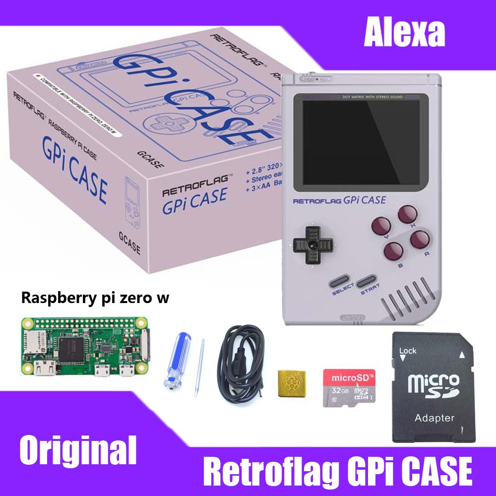 In Stock! Original Retroflag GPi CASE Kit For Raspberry Pi Zero / Zero W