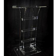 Подиум из акрилового кристалла на заказ/прозрачный плексиглас