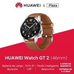 Versión Global HUAWEI Watch GT 2 GT2 GPS 46mm 14 días teléfono llamada impermeable agua Monitor de ritmo cardíaco