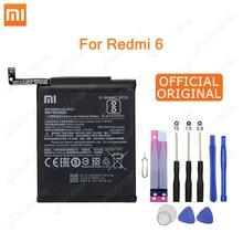 Xiao Mi Original Phone Battery BN37 For Xiaomi Redmi 6 Hongmi 6A 2900mAh high quality Replacement Battery Retail package + Tool