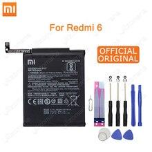 שיאו mi המקורי טלפון סוללה BN37 לשיאו mi אדום mi 6 הונג mi 6A 2900mAh החלפת באיכות גבוהה סוללה קמעונאות חבילה + כלי