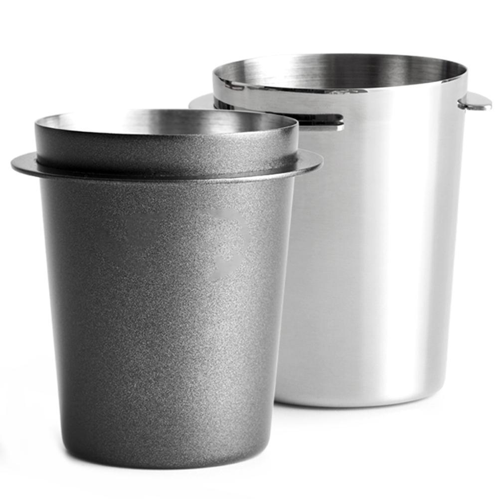 58 мм Кофе кружка-дозатор простой 120 мл Нержавеющаясталь контейнер для порошка часть подходит кофеварка для приготовления эспрессо, кружка ...