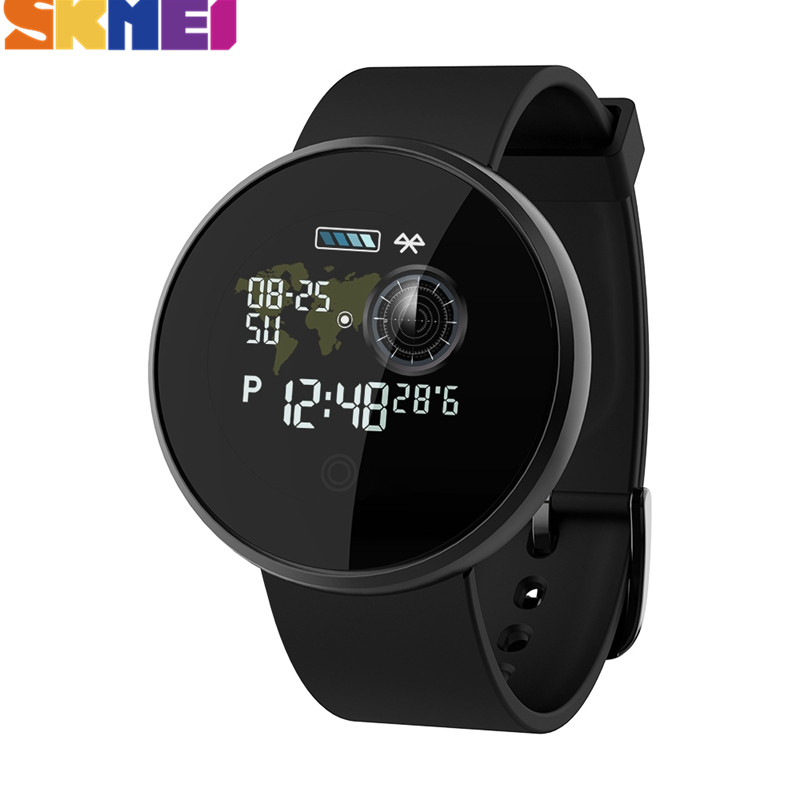 SKMEI Männer Frauen Smart Uhr Bluetooth Herz Rate Smartwatch Calorie Schritt GPS Tracker Fitness Uhr B36M Für Android IOS B36M