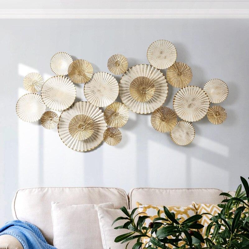 Американские настенные вешалки для крыльца, креативное Кованое украшение для стен, сплошное настенное украшение для гостиной, фоновое укра...