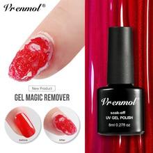 Vrenmol 8ML Magic Burst Remove Gel Soak Off UV&LED Nail Polish Gel Cleaner Lint Free Wipes   Nail Supplies for Professionals