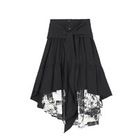 Original Design Irregular Skirts Womens Splice Harajuku Style Long Skirt Fashion Streetwear Women Clothes 2020 GCC3185