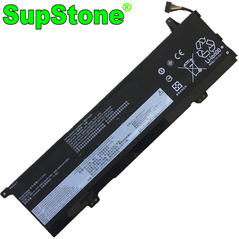 Аккумулятор SupStone L17C3PE0 L17L3PE0 5B10Q39196 5B10Q39197 для ноутбука Lenovo Yoga 730-13IKB 15IWL 15IKB 81CU003XMZ 81JS002