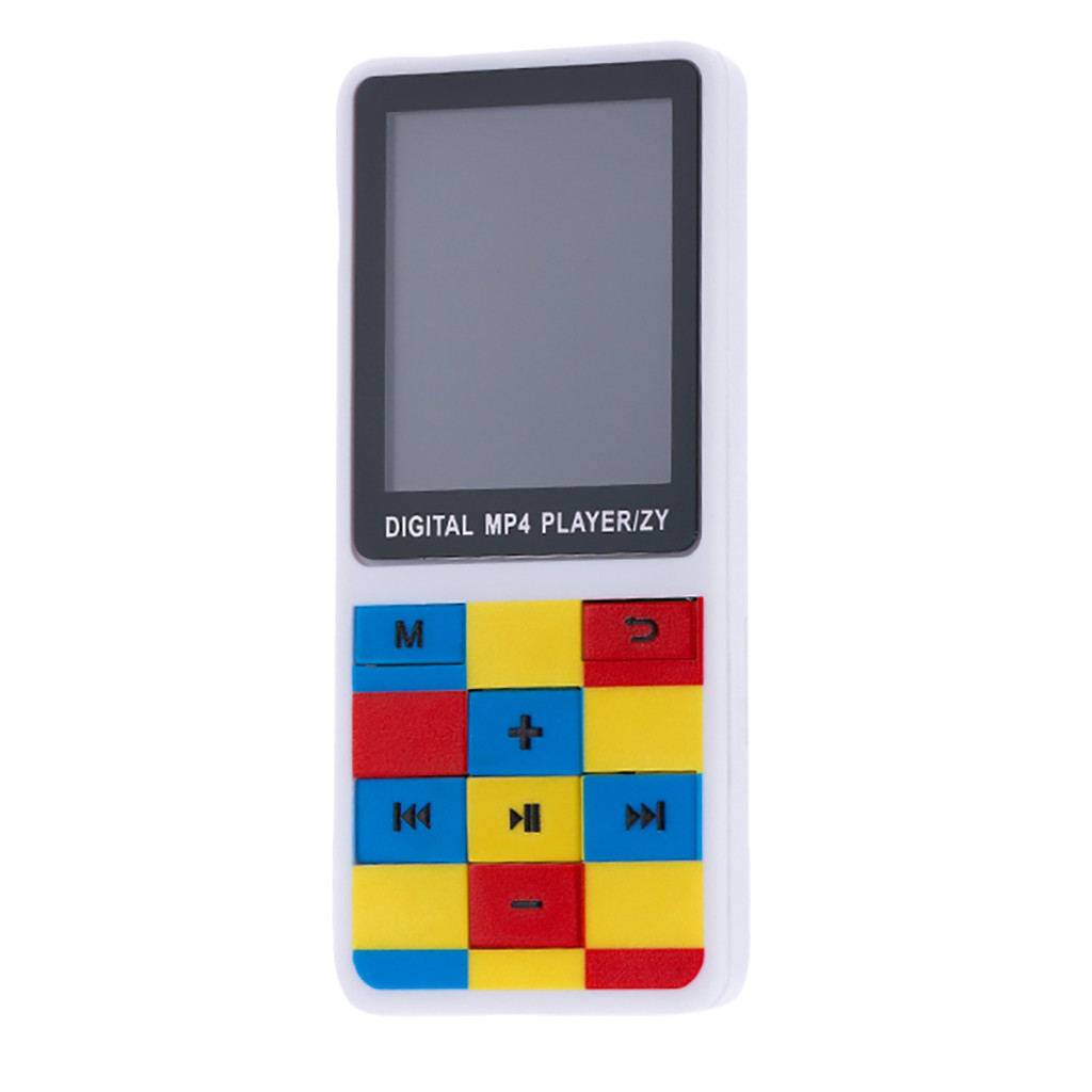 MP3 MP4 Player 1.8/'/' Color TFT Screen FM stereo Radio Video Movie Mic Sd Card