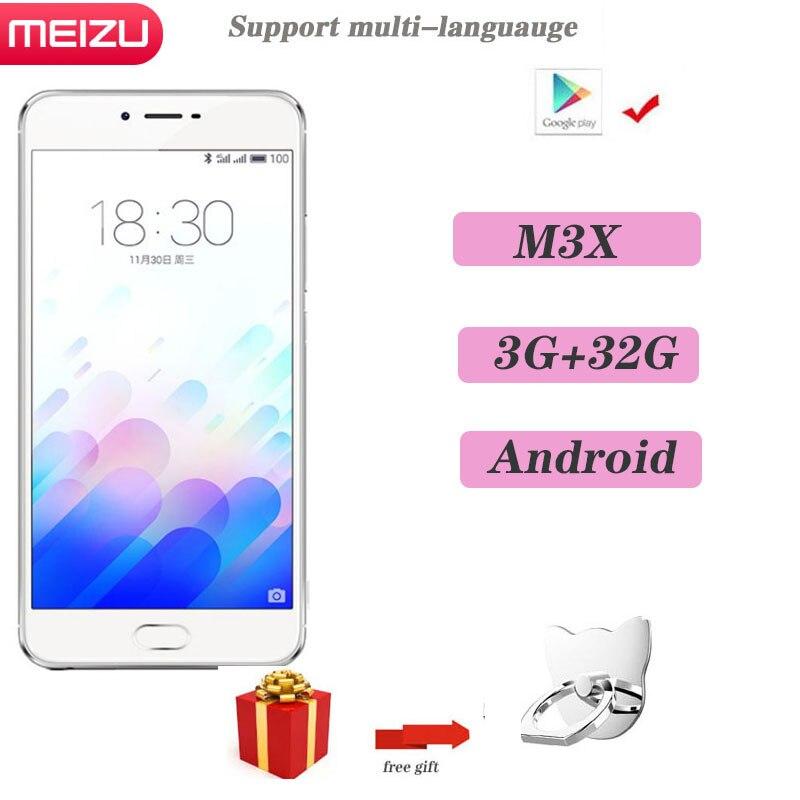 98% Новый Meizu M3X, 3 Гб оперативной памяти, 32 Гб встроенной памяти, смартфон глобальная версия двойной Камера Android телефон MTK Helio P20 5,5 дюймов Экран