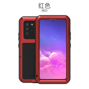 360 Full Protect For Samsung Galaxy S10 Lite Case Funda Silicone Shockproof For Samsung Note 10 Lite Cases S10Lite 2020 Cover - For Note10 Lite, Red