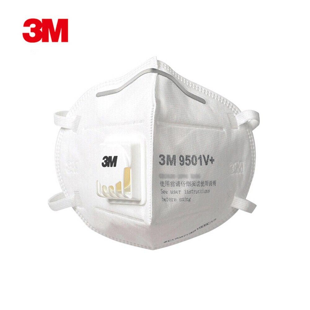 3M 9501V+ Dust Mask Particulate Fog Dust-proof Safety Masks