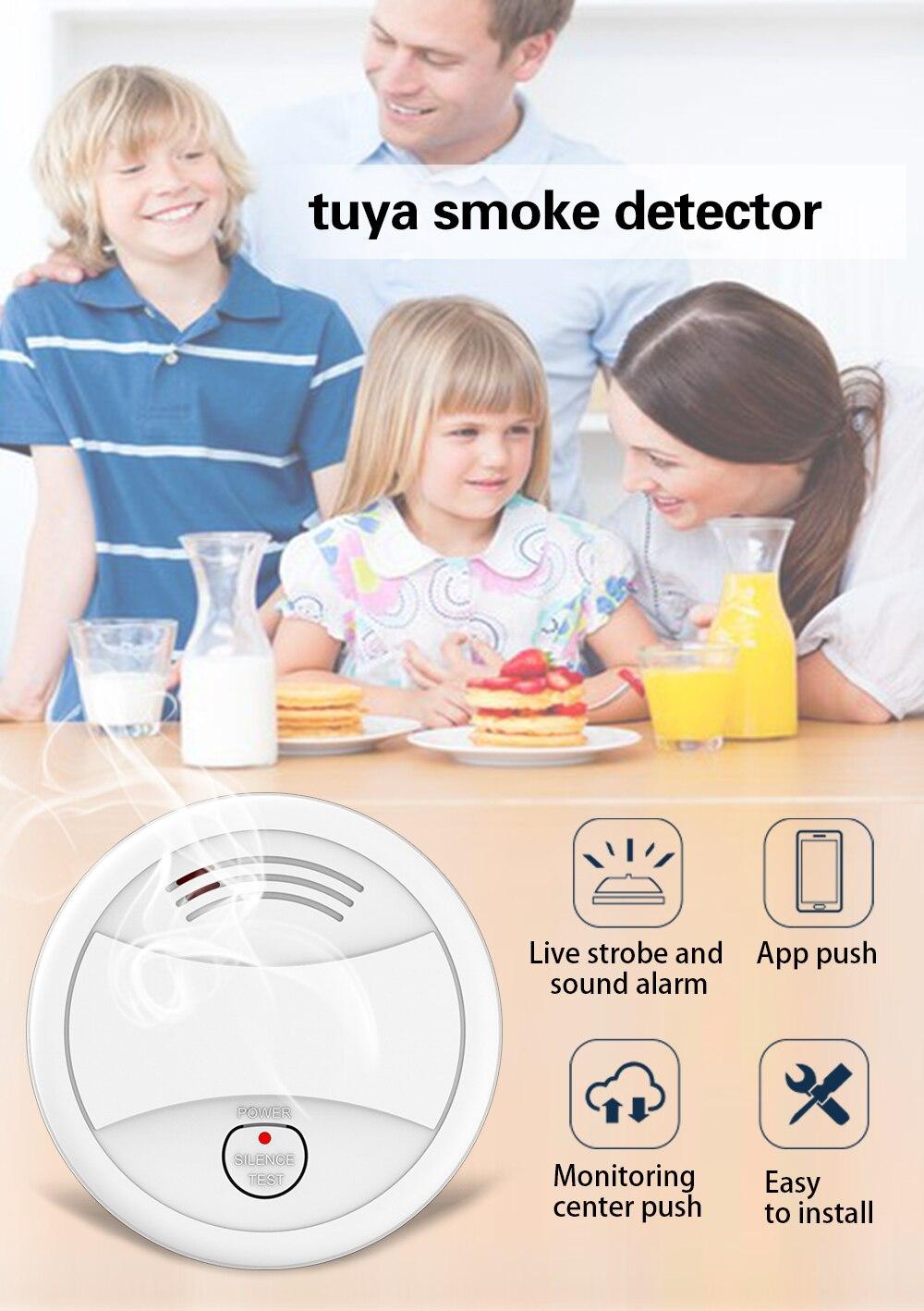 Detector de humo WIFI