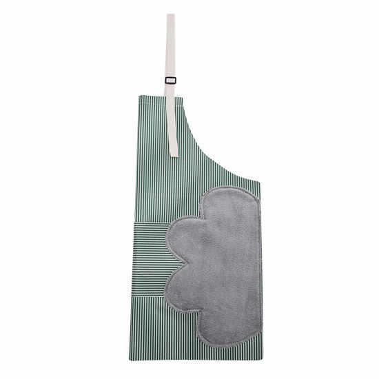 A mano Grembiule, Giapponese impermeabile, a prova di olio da cucina, cucina di modo, donne di età della vita. Mezza grembiule vita cuoco grembiule IN PVC