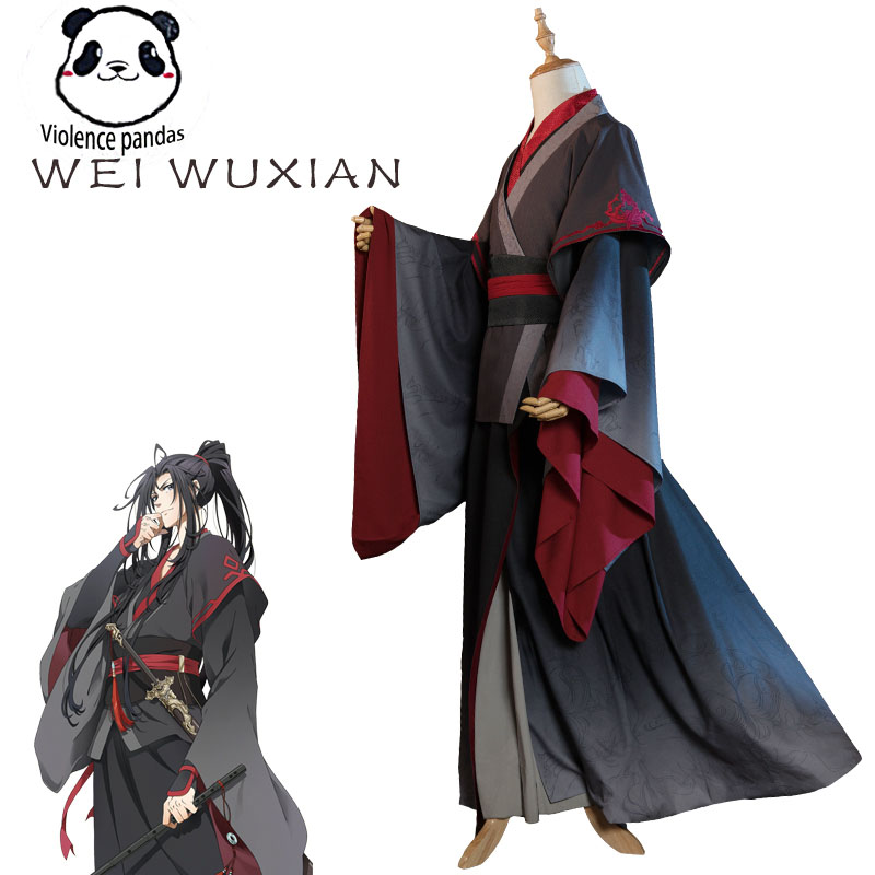 Hot Cool Cosplay Wei Wuxian Cosplay Mo Xuanyu Costume Anime Grandmaster Of Demonic Cultivation Cosplay Mo Dao Zu Shi Costume Men