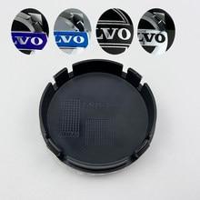 Centre de jante de voiture 64mm, 60 pièces, couvercle cache-moyeu pour volvo XC90 XC70 XC60 V40 V50 V60 V70 V90 S50 S70 S90 3546923