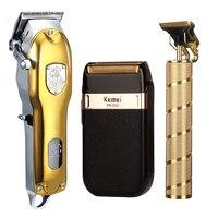 2021 tagliacapelli tagliacapelli elettrico rasoio Cordless Trimmer 0mm uomo barbiere tagliatrice di capelli per uomo ricaricabile USB