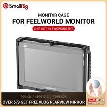 Feelworld T7, 703, 703S, MA7, MA7S 및 F7S 모니터 용 SmallRig 모니터 케이지 2233