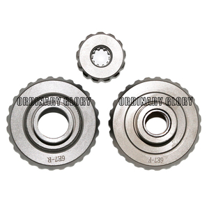 Image 4 - Juego de engranajes para motor fueraborda Hidea 15F, 2 tiempos, 15HP y Yamaha 2 tiempos, 15HP, 6E7 45560 01, 63V 45551 00, 6E7 45571 00