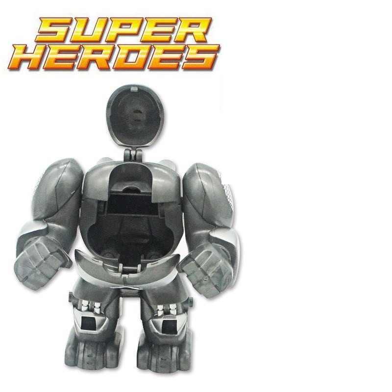 ML-K44 Iron Man Hulkbusters Model rysunek bloki budowlane cegły budowlane zabawki dla dzieci